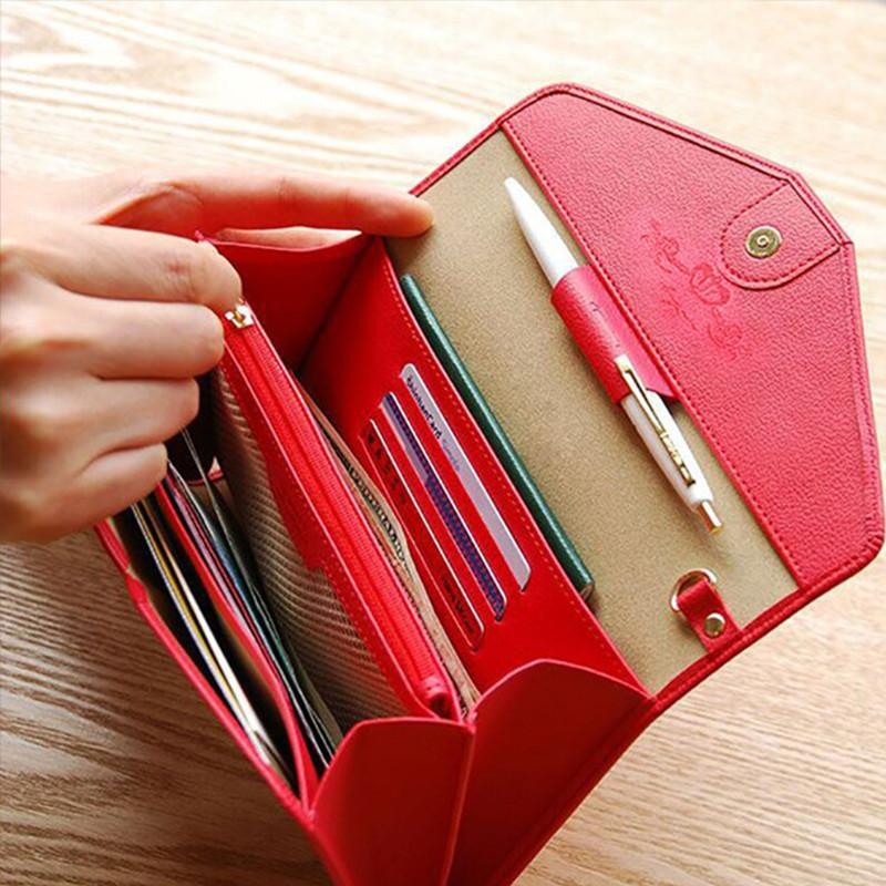 Wholesale New Design Business Card Holder Woman Card Passport ...