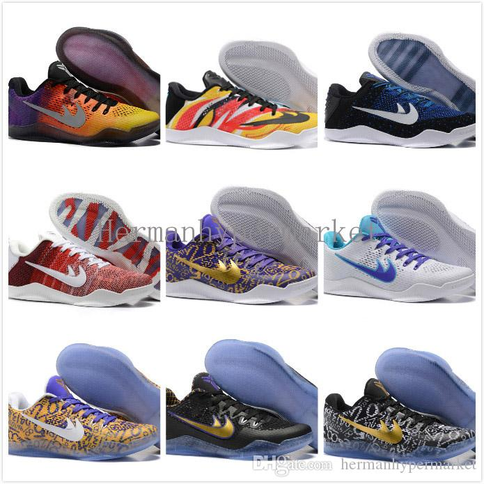 Compre Hombres Kobe 11 Em Zapatillas De Baloncesto De Día Mamba Kobe ...