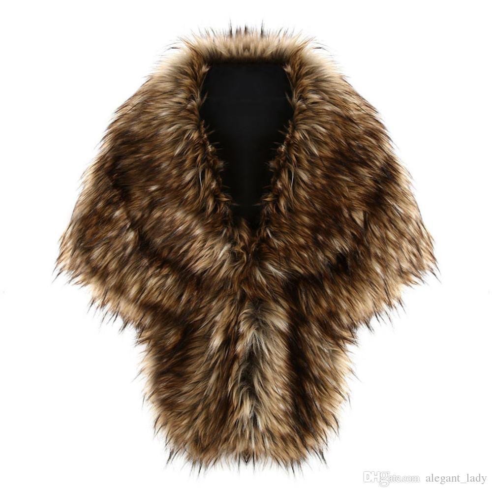 호화로운 타조 깃털 신부 목도리 모피는 결혼 어깨 구리 코트 신부를 포장 겨울 결혼식 파티 Boleros 자켓 망토