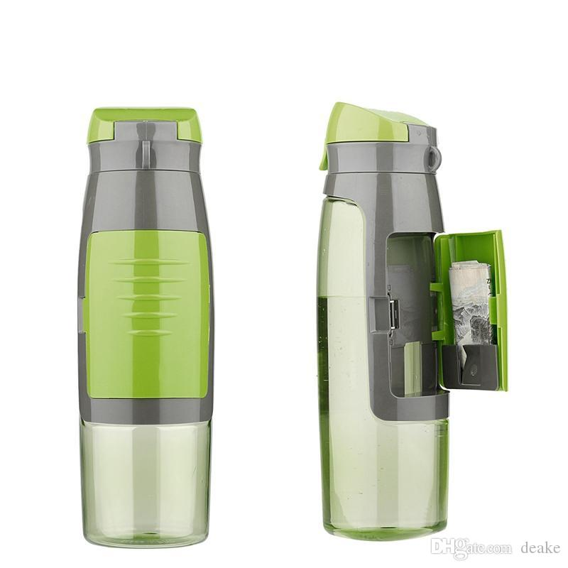 Wholesale 750ml Water Bottle With Storage Compartment Credit Cards Keys Bpa Free Portable Sports Gym Kettle School Drinks Bottle Mug Coffee Mugs Online ...  sc 1 st  DHgate.com & Wholesale 750ml Water Bottle With Storage Compartment Credit Cards ...