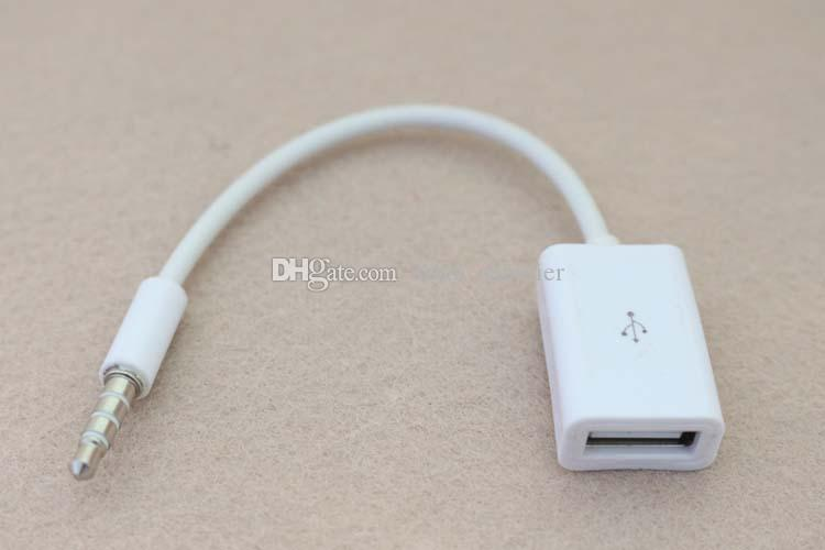 Lightning To 3 5mm Male: Car MP3 Sync 3.5mm Male AUX Audio Jack Plug To USB 2.0