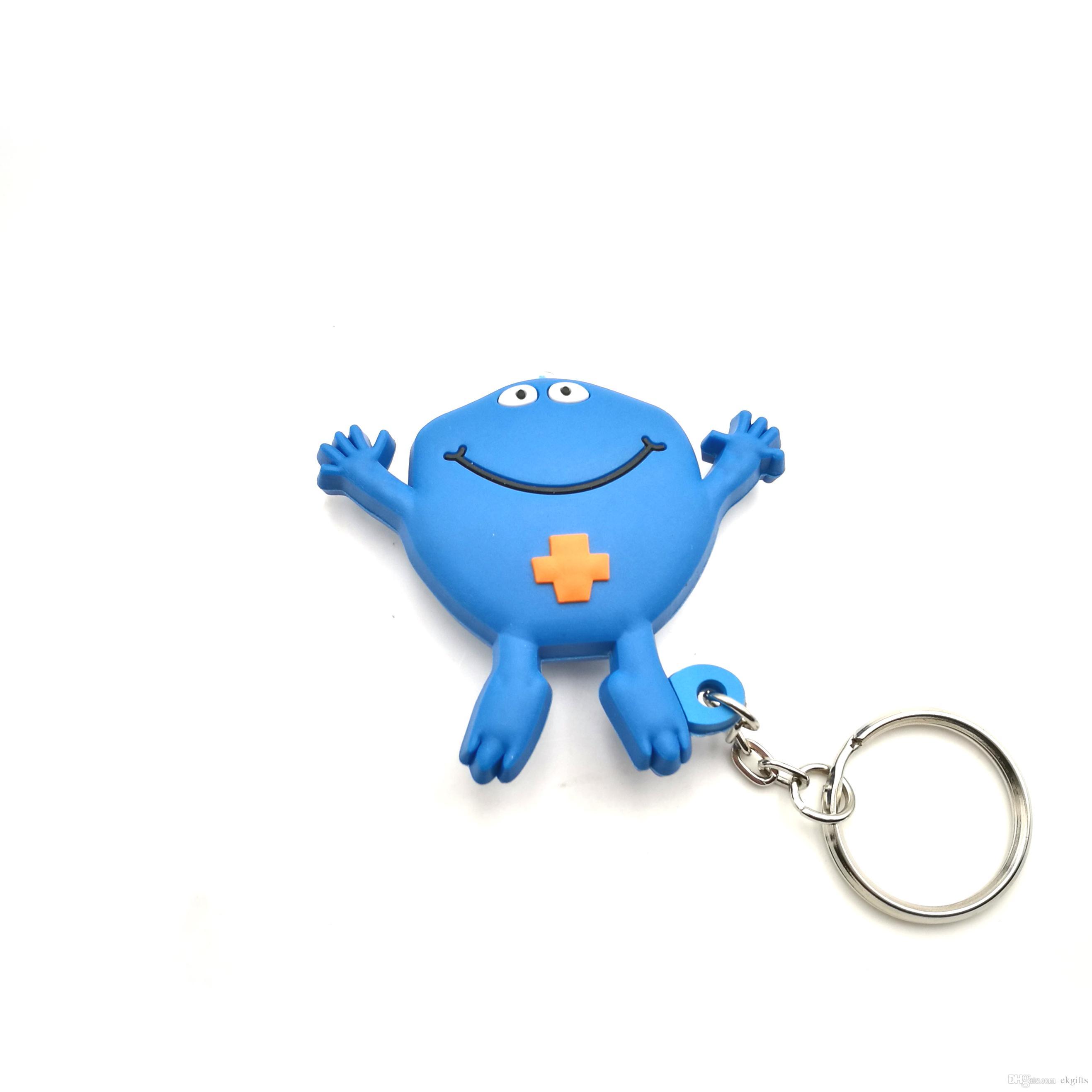China Professional PVC Key Chain Gift Maker Custom Made Plastic LED Light  Keyring Cheap Promotional Keychains Kingdom Hearts Keychain Promotional  Keyrings ... bc27988c3