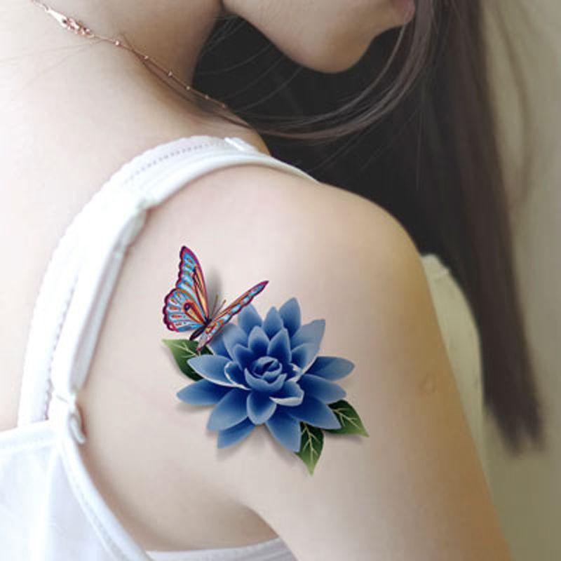 Acheter Vente En Gros 3d Tatouage Impermeable Body Art Bricolage