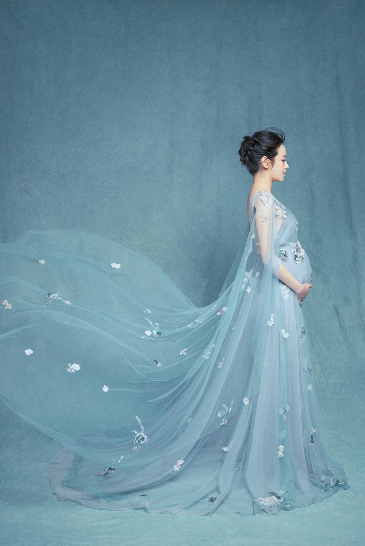 2018 Free Size Elegant Chiffon Maternity Wedding Dresses Appliqued ...