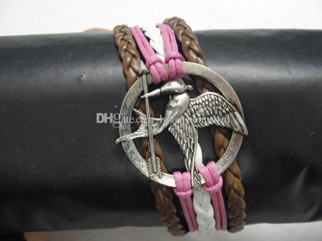 Prix bas traitement aléatoire 50 styles bracelet en cuir infini croix ancre amour pêche coeur hibou oiseau croisent perle charme bracelets