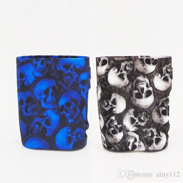 Silicone case for Eleaf iStick Pico 75W Kit Skull Head and Camouflage Protective Case Soft Skin E Cigarette Rubber Sleeve Protective Silicon