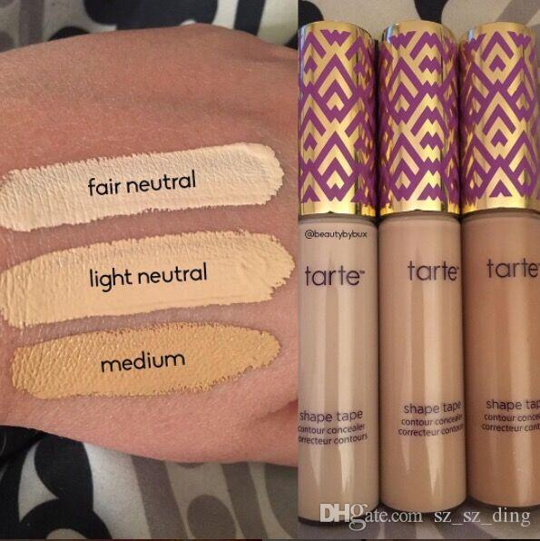 New Shape Tape Concealer Contour Fair Light Light Medium Medium Light Sand 10ml concealer DHL