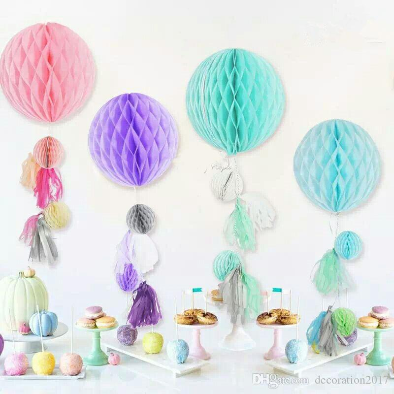 Honeycomb Ball Decorations Beauteous 6Inch15Cm Tissue Paper Honeycomb Ball Decorations For Birthday 2018