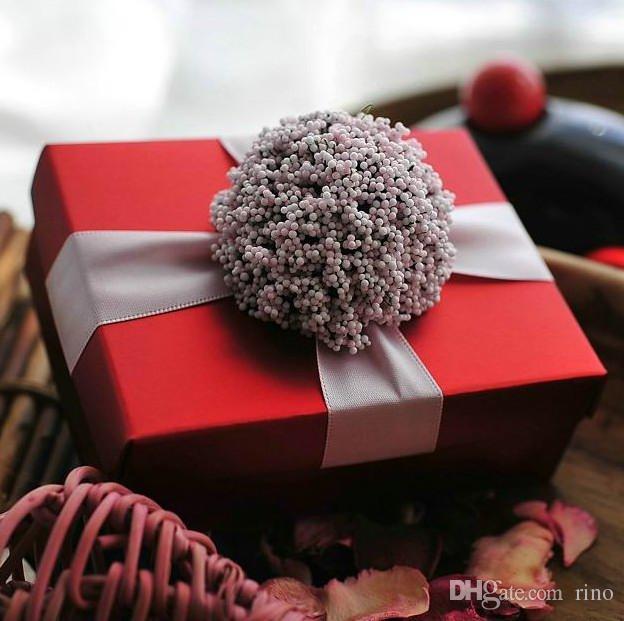 Grosshandel Hochzeit Geschenke Boxen Fur Hochzeitsbevorzugungen Rot