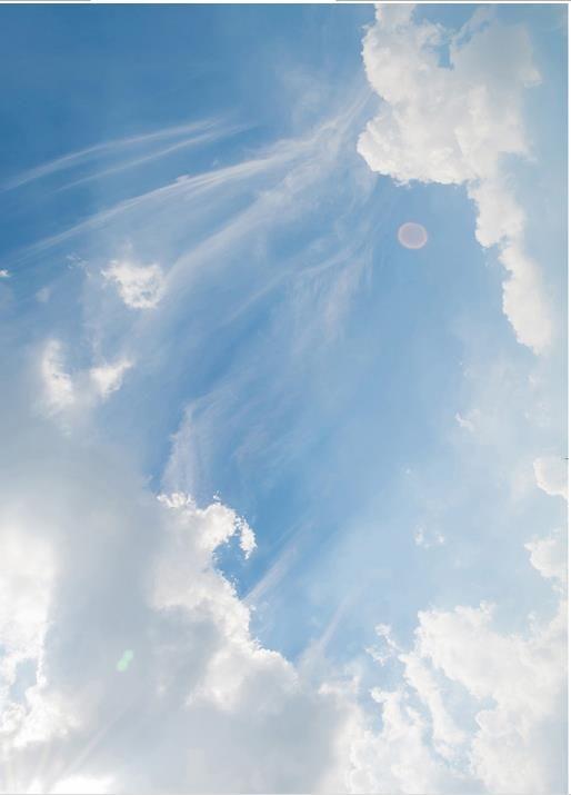 3 차원 천장 사용자 지정 3D 꿈의 선샤인 푸른 하늘 흰 하늘 하늘 예술 벽지 천장에 대한 3D 벽지 거실 천장 현대