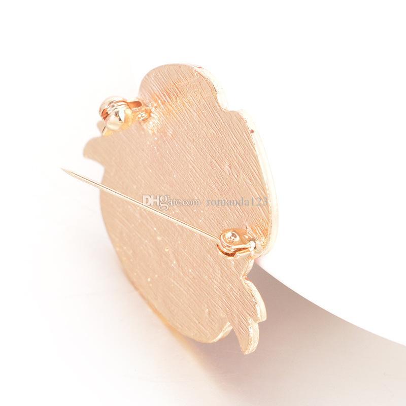Distintivo d'oro bianco