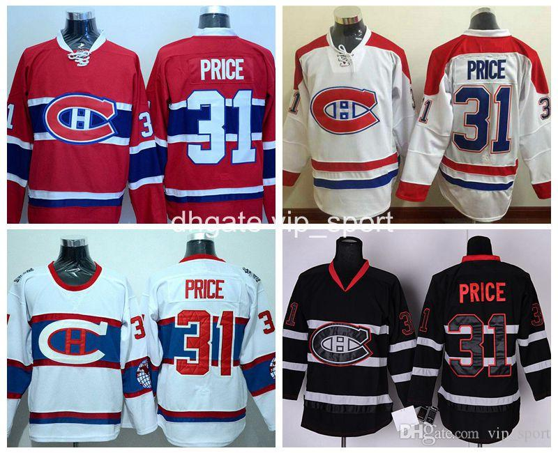577a65a2c ... 2017 Wholesale Men 31 Carey Price Jersey 2016 Winter Classic Montreal  Canadiens Ice Hockey Jerseys Team ...