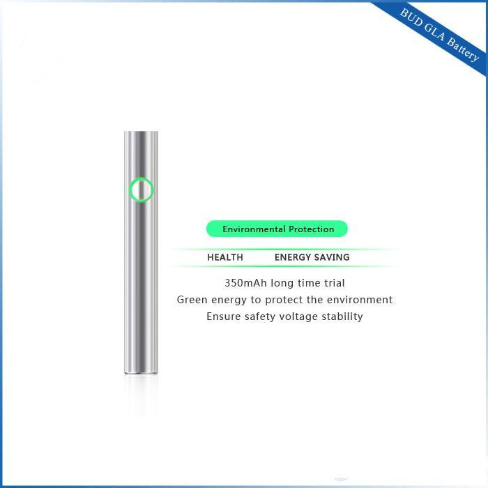 Autentyczny BUD Dotknij baterii podgrzewanie dotykowy-C Touch-D DEX Pre-Heat Gla Wax Vaporizer Vaporizer Vaporariat Napięciowy bateria do gęstej wkładu oleju