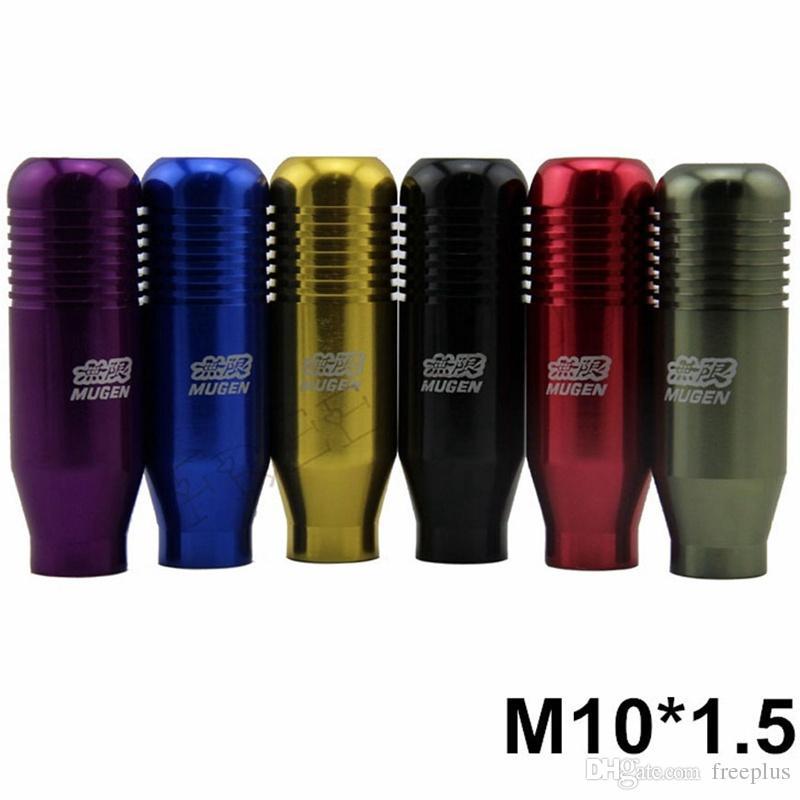 NEU M10 * 1.5 Cool Mugen Schaltknauf Racing Schaltknauf für Honda Acura Neo Chrom / Gold / Schwarz / Rot / Blau / Lila