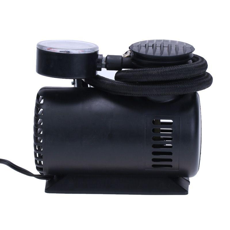 12 V300 PSI Car Auto Elétrico Portátil Bomba Inflável Compressor de Ar Do Pneu Inflator para Carro Pneus de Bicicleta Bolas de Esportes Bolas de Ar