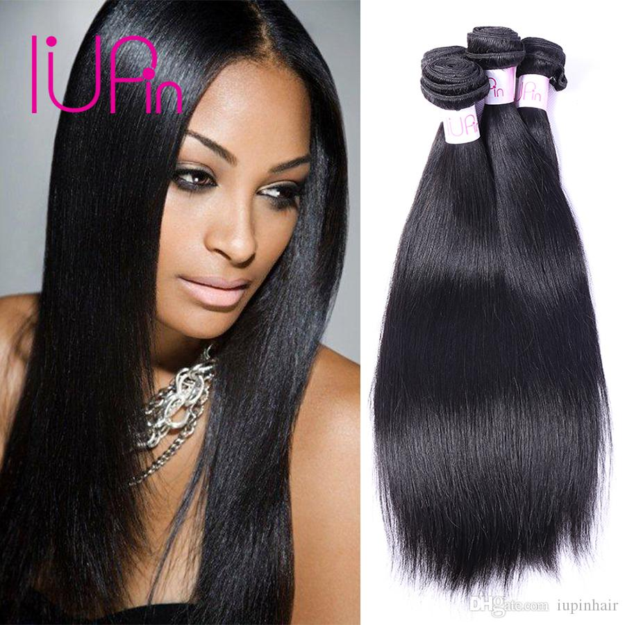 Indian Virgin Hair Straight 3 Bundles Deals Peruvian Malaysian