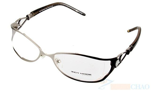 dc4fc4d572 Wholesale-  women Fashion Stainless Steel Glasses Frame Brand Spectacles