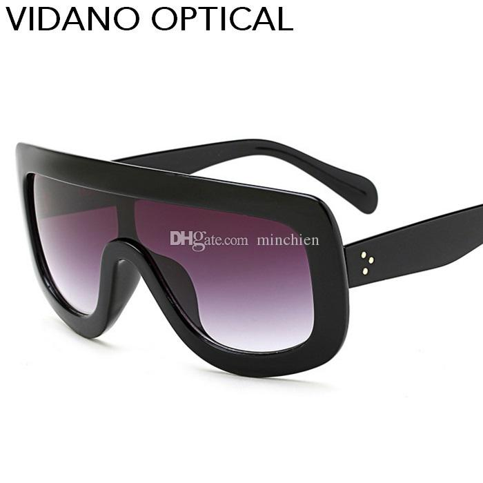 45d7825fef76 Vidano Optical New Square Sunglasses Women Goggle Design Eyewear Men ...