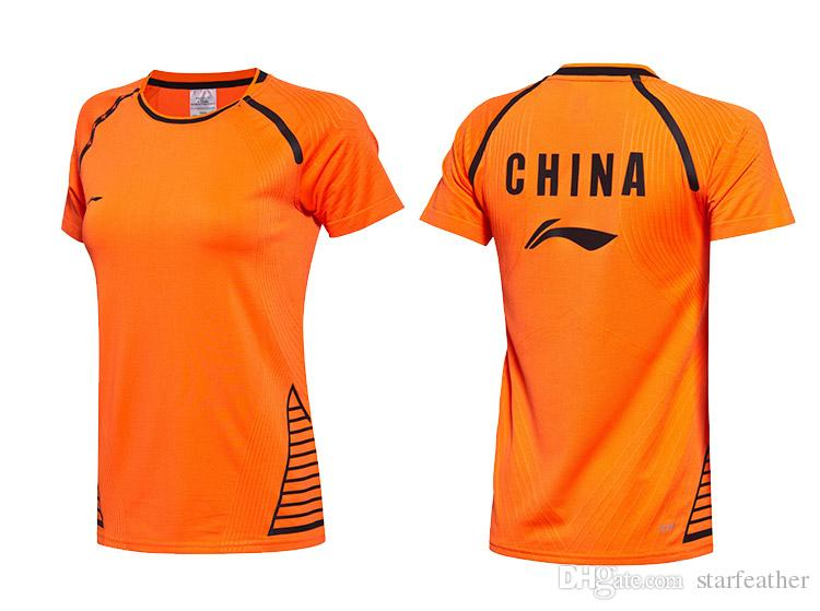 2017 Sudirman Cup Badminton wear the national team jersey breathable quick drying suit uniforms for men and women
