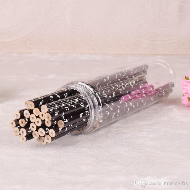 Клавиатура музыка карандаши мода карандаши прекрасный карандаш канцелярские принадлежности для подарка малыша в стволе