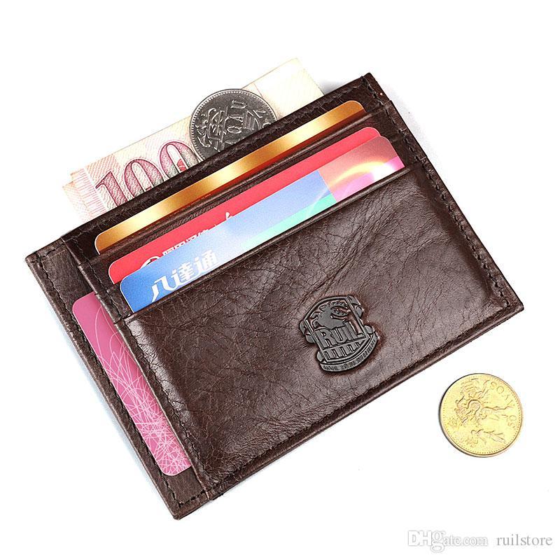 5473e1d24082b Hot Sale Men s Wallets Genuine Leather Money Clip Fashion Credit ...