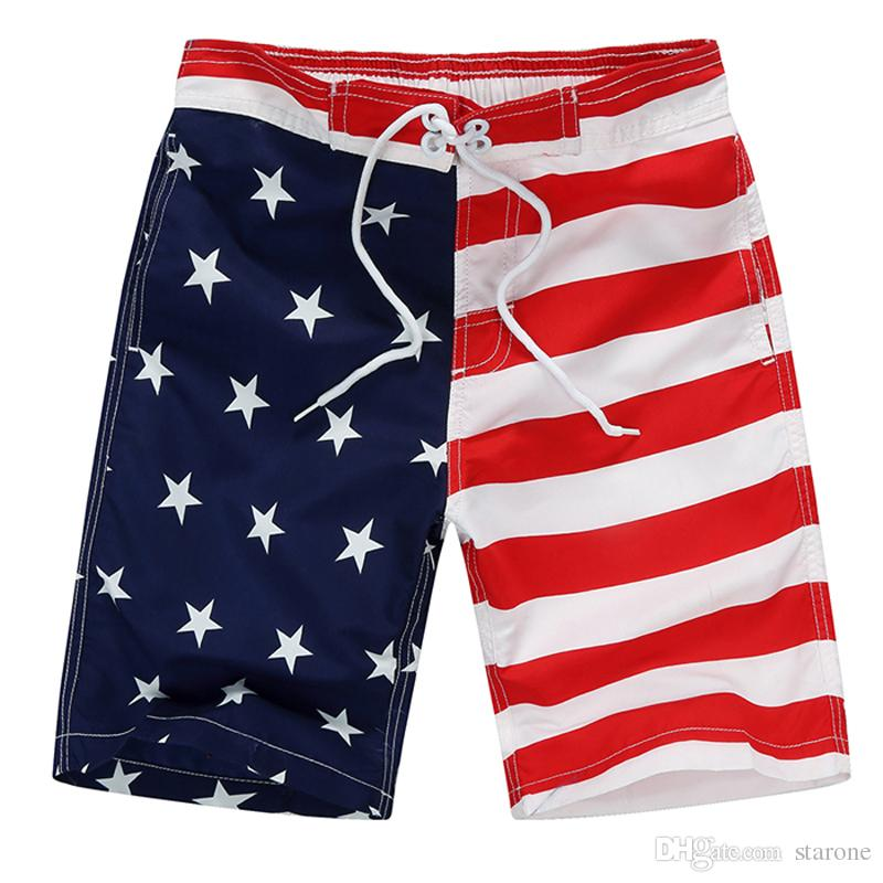 e30522fc15 2019 New Beach Shorts For Boys Surf Board Short Custom Swim Trunks  Pentagram Kids Sport Wear American Flag Board Shorts From Starone, $20.75 |  DHgate.Com