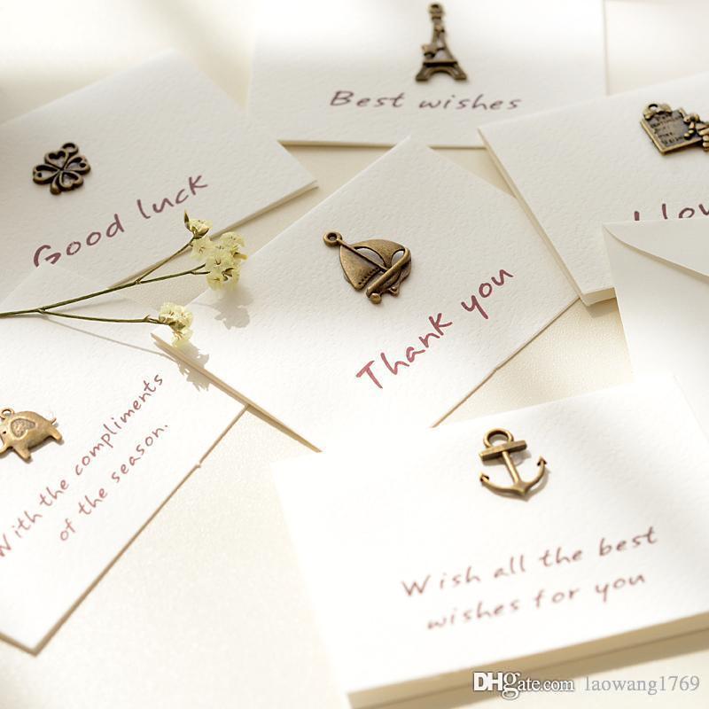Vintage Memory Folding Message Card With Envelope Kawaii Christmas ...