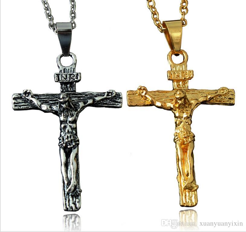 Wholesale the new best selling new jesus titanium cross pendant wholesale the new best selling new jesus titanium cross pendant necklace pendant men retro cross word chain o pearl pendant necklace cheap pendant mozeypictures Gallery
