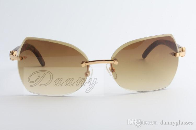 High quality sunglassses, peacock wood evidence, sunglasses, people with unlimited Brown lenses, 8300818 sizes: 60-18-135 mm