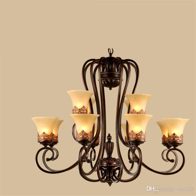 Country vintage style chandeliers flush mount ceiling pendant lamps country vintage style chandeliers flush mount ceiling pendant lamps e27 painting lighting fixture lamp moring glory glass lampshade brass pendant lighting aloadofball Images