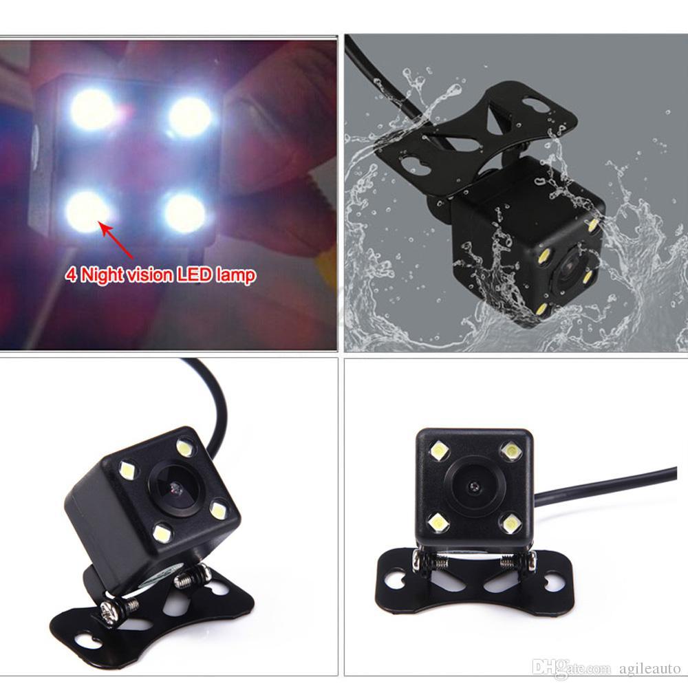 Plegable de 4.3 Pulgadas TFT LCD Mini Car Monitor con Cámara de Copia de seguridad con Vista Posterior para Vehículo de Reversión Sistema de Estacionamiento CMO_526