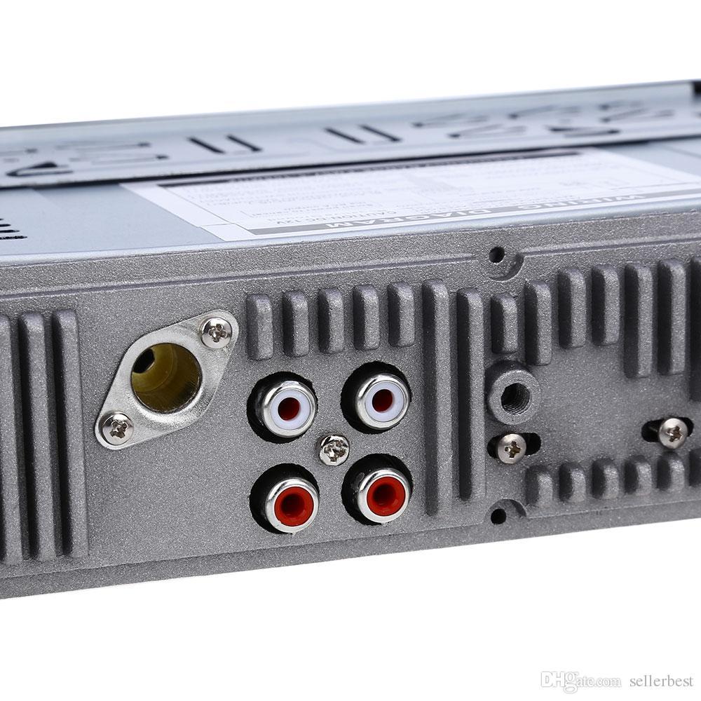 12 فولت بلوتوث سيارة راديو السيارات الصوتية السيارات ستيريو في اندفاعة 1 الدين fm استقبال aux المدخلات استقبال usb mp3 mmc wma راديو لاعب للمركبة