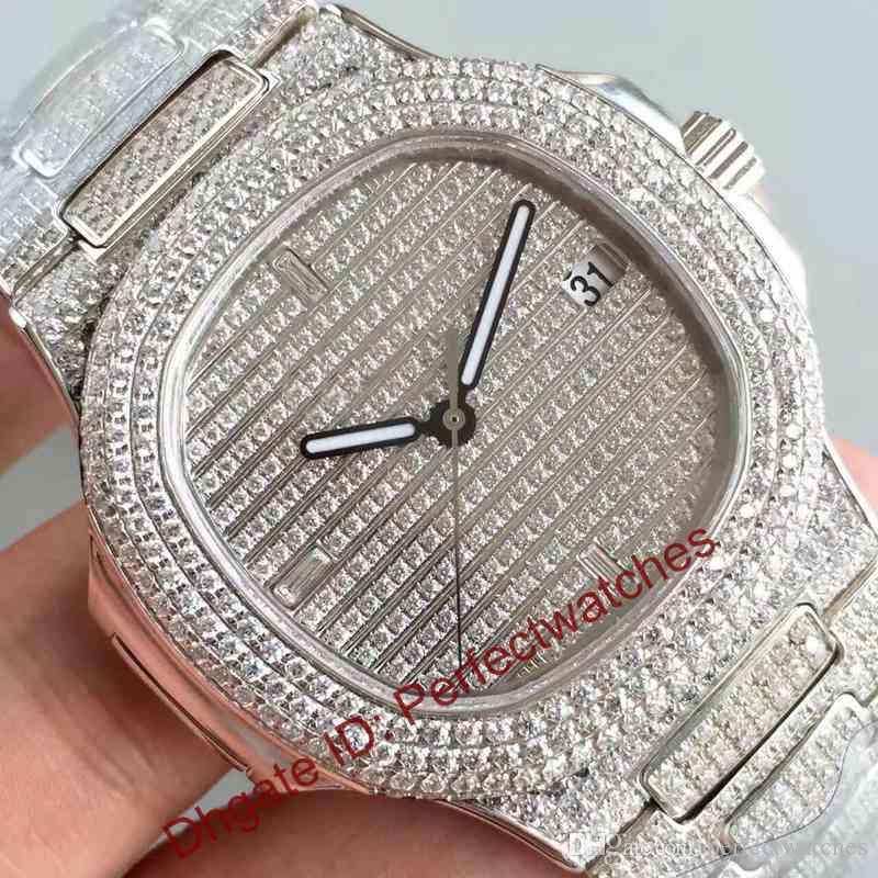 watches ice watch iced fully mens time silver ebay shiny bling bhp shine uk diamond out