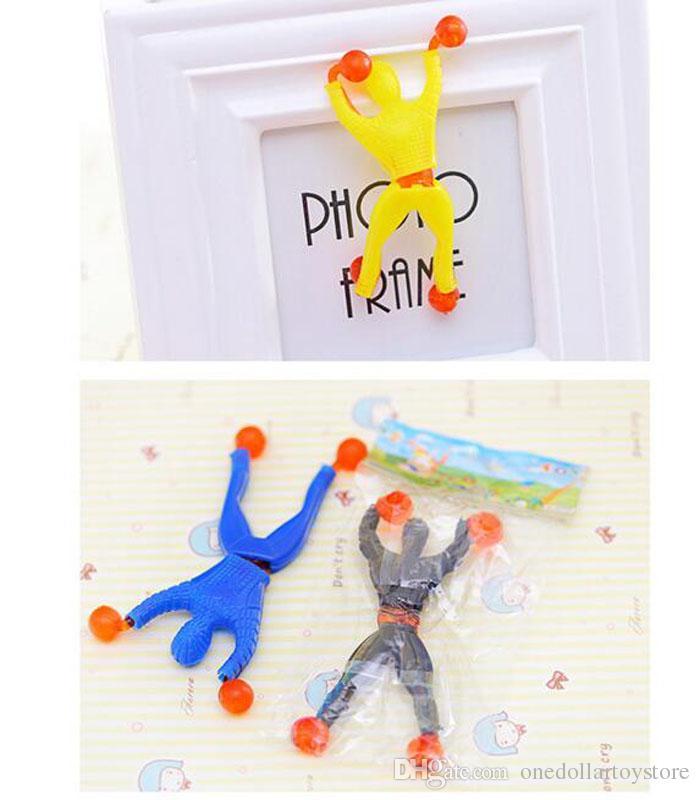 Juguete de bricolaje Material suave escalada hombre araña villano gente fangendou hombre araña pegajoso