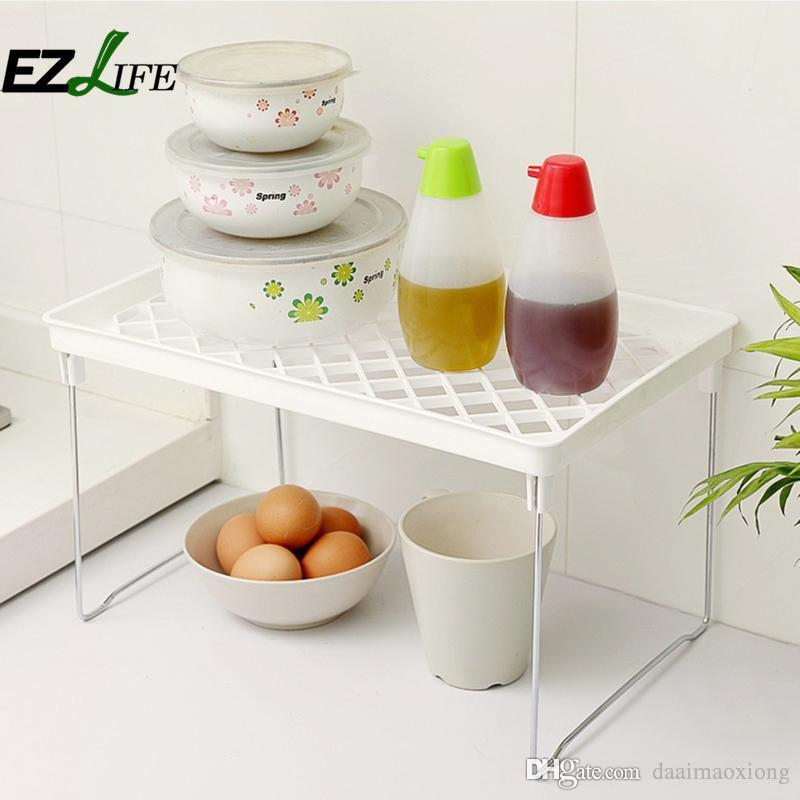 Kitchen Supplies Creative Kitchen Toilet Multi Purpose Shelf Folded ...