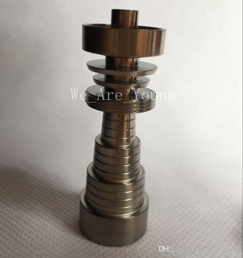 Titanium Nail Domeless Universal Männlich / Weiblich Fit 10mm 14mm 18mm 6in1