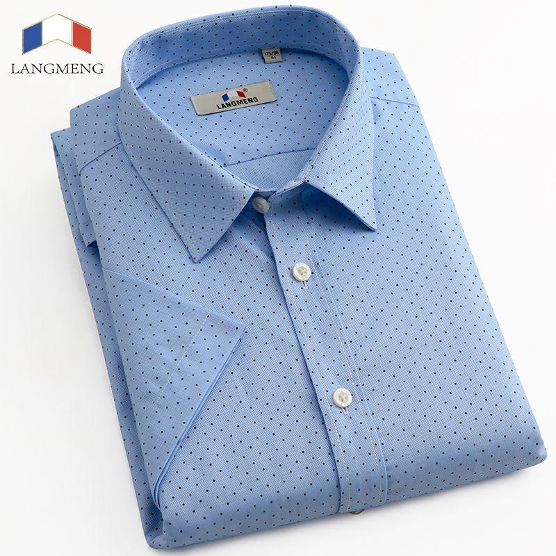 Men S Slim Fit Short Sleeve Polka Dot Shirt Mossimo Xl