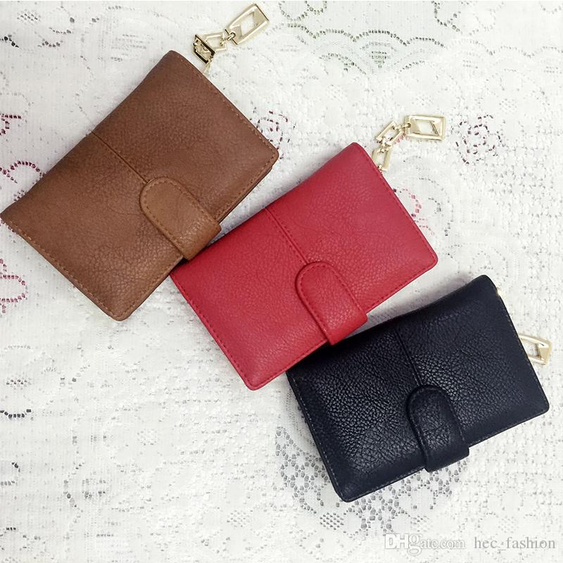Hot New Short Wallets Woman Hasp Simple Purse Credit Card Package Brand Candy Casual Multi-card bit Fashion Ladies Coin Purse VKP1400