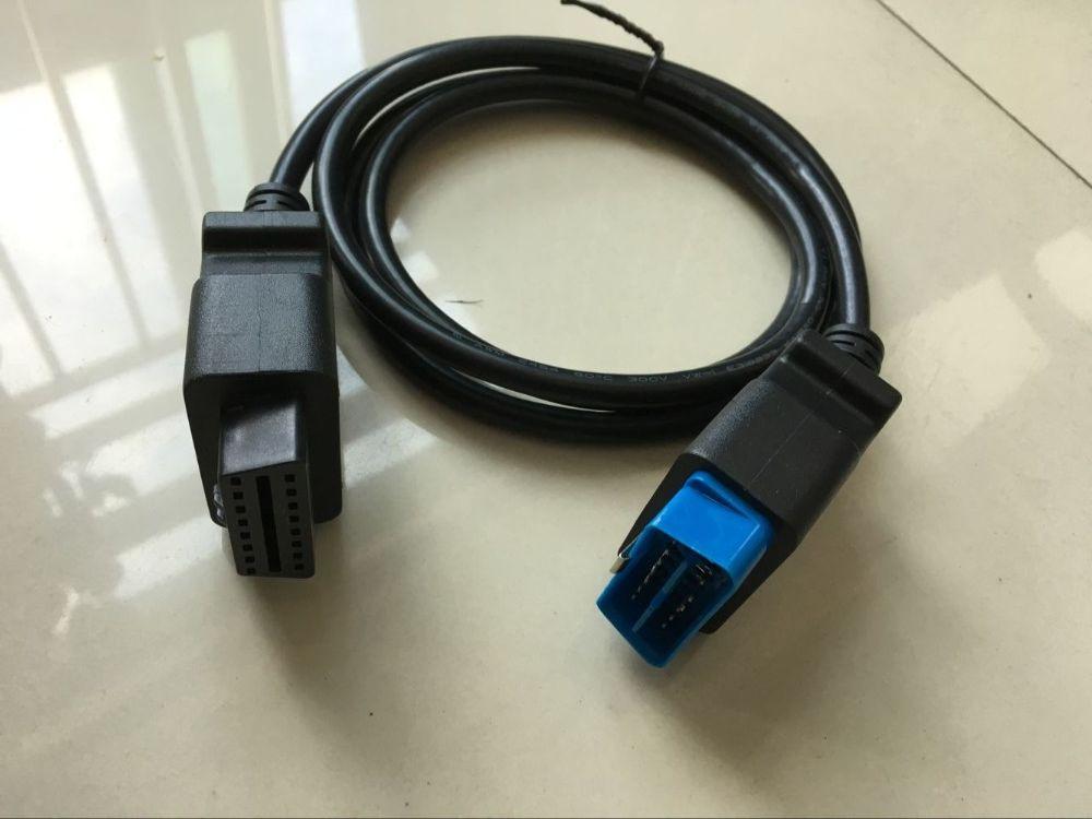 Yüksek Kaliteli OBDII OBD 2 16Pin OBD2 16 Pin Erkek Kadın Transfer Araba Teşhis Kablo ve Konnektör