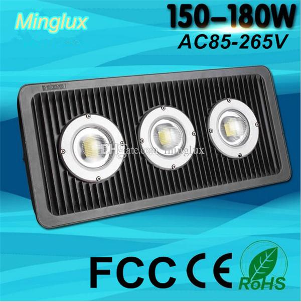 180W Intergrated COB Floodlights Aluminum Housing LED Flood Lights 18000lm Smart IC Driver Outdoor Project Lamp Waterproof 110V 220V 240V