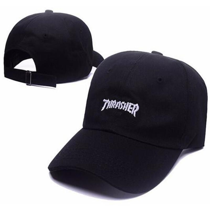 433cda6c89d Embroidered Letter Cotton Snapback Baseball Cap Fitted Hat Black New ...
