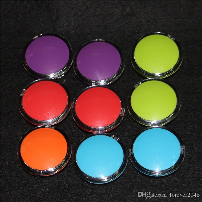 Récipient en silicone pour huile anti-adhésive clair, 6 ml de plastique, contenant de cire, contenant en verre, brisant les conduites d'eau de verre, acrylique vaporisateur