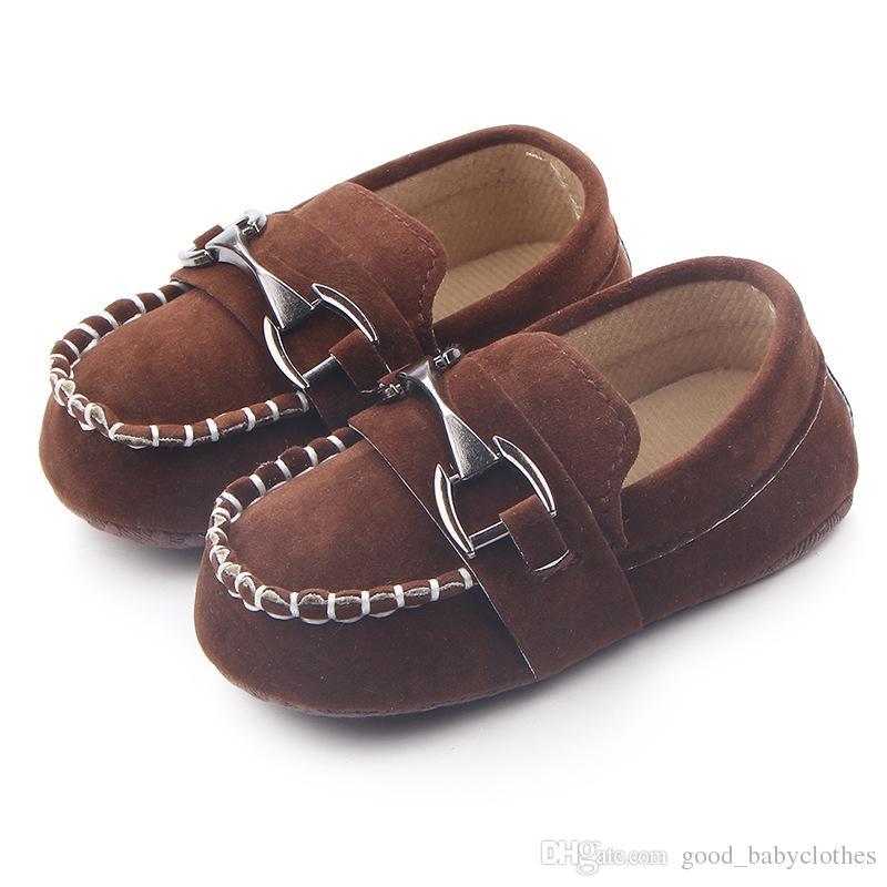 Новые детские детские туфли первые ходунки мягкие подошвы малышей кроватки обувь крутой новорожденного Bebe повседневная обувь