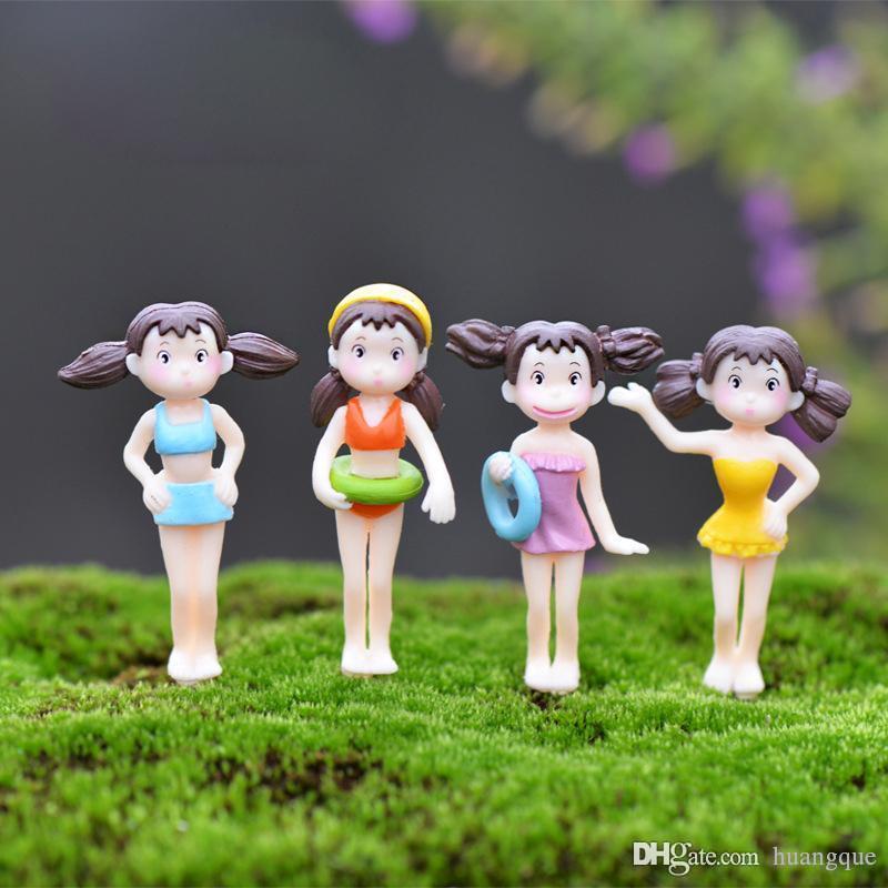 Gnome In Garden: 2017 Random Bikini Girl Diy Resin Fairy Garden Craft