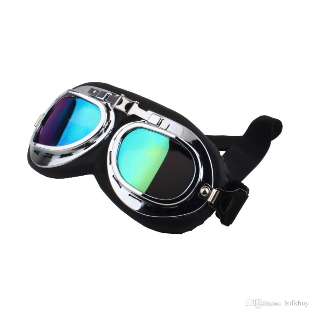 motorcycle goggle GOGGLES racing bicycle bike Scooter Cruiser Helmet Eyewear glasses