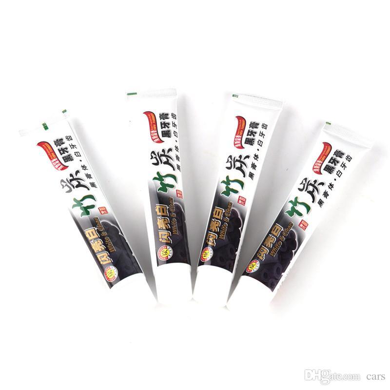 Новейшая угольная зубная паста Черный бамбук Угольная зубная паста Гигиена полости рта Уход за зубами 100г ГОРЯЧИЕ ГОРЯЧИЕ ПРОДАЖИ
