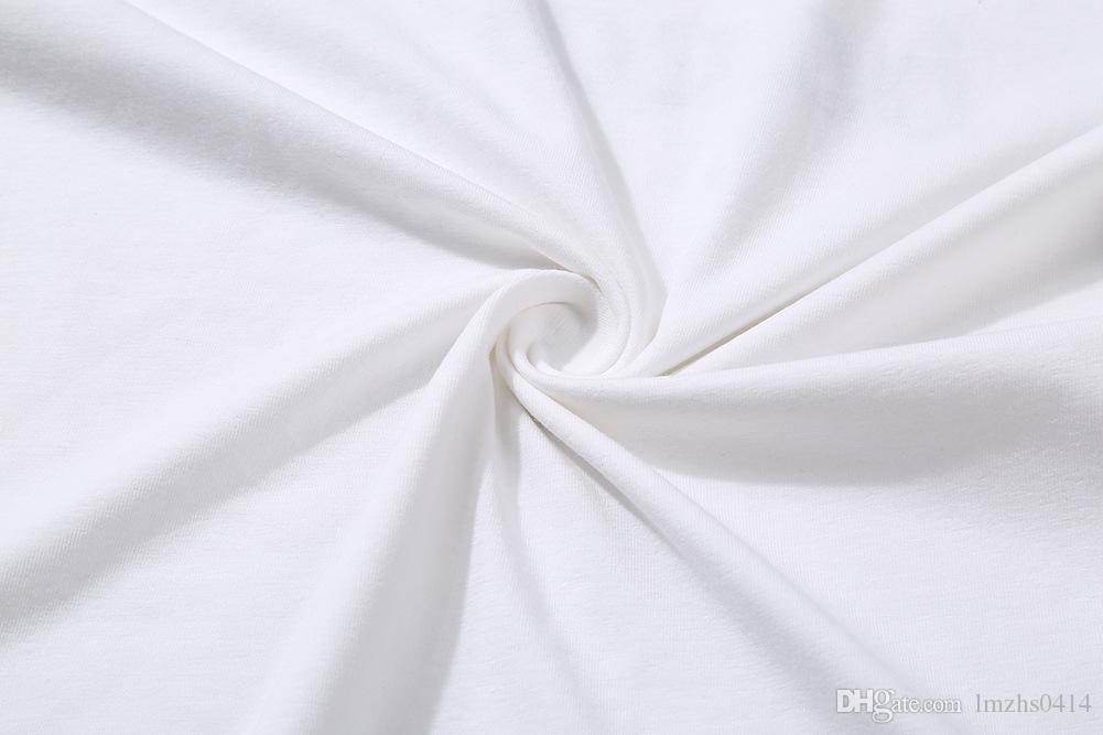الرجال قصيرة الأكمام القطن تي شيرت طوق تي شيرت المد الملابس على أحدث سترة نمط الطباعة الساخنة 2017 تشون شيا الرجال تي شيرت تنفس و