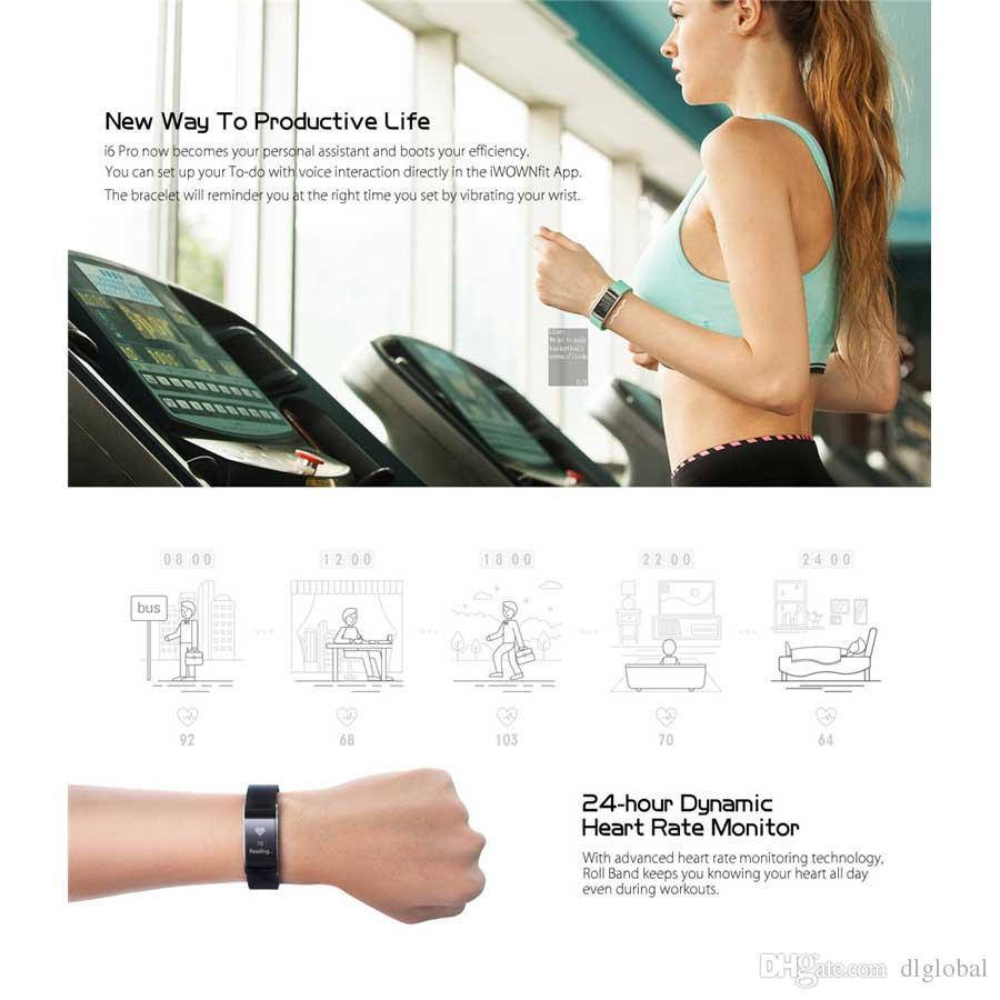 Mode Sport en plein air Casual décontracté Bracelet de fréquence cardiaque Tracker Sport Bluetooth 4.0 Intelligente