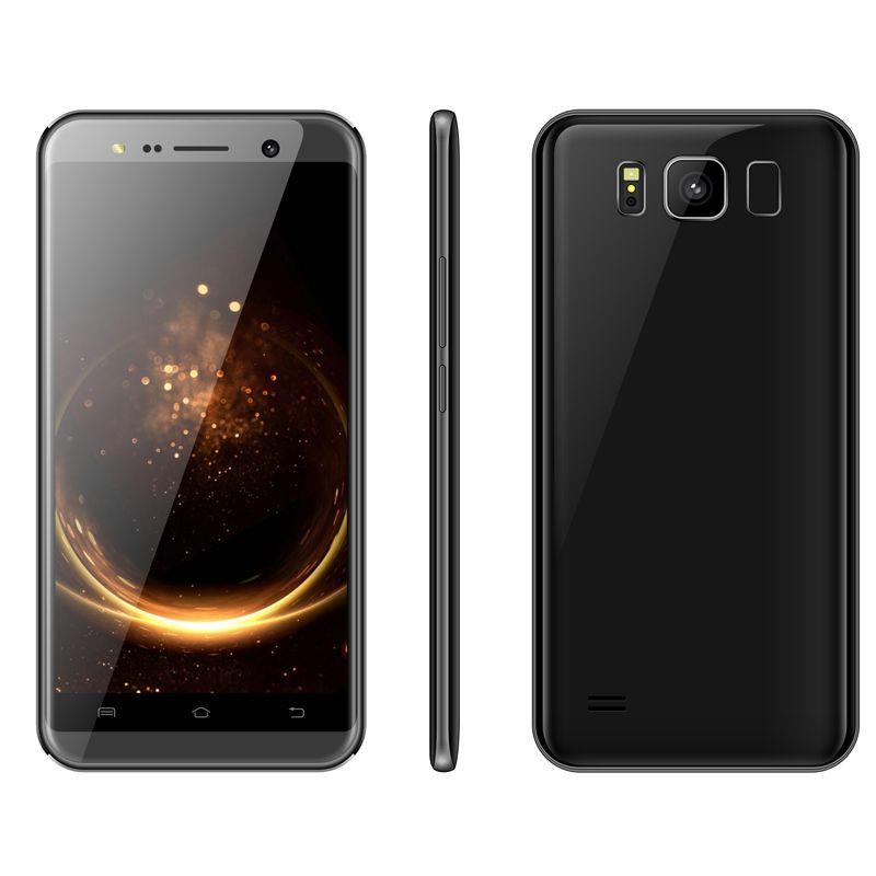V3 Smartphone 5.5Inch MTK6580 Quadcore Mobliephone 1GBRAM 4GBROM Dual Camera 5.0MP Back Camera Beauty Camera Android Smartphone