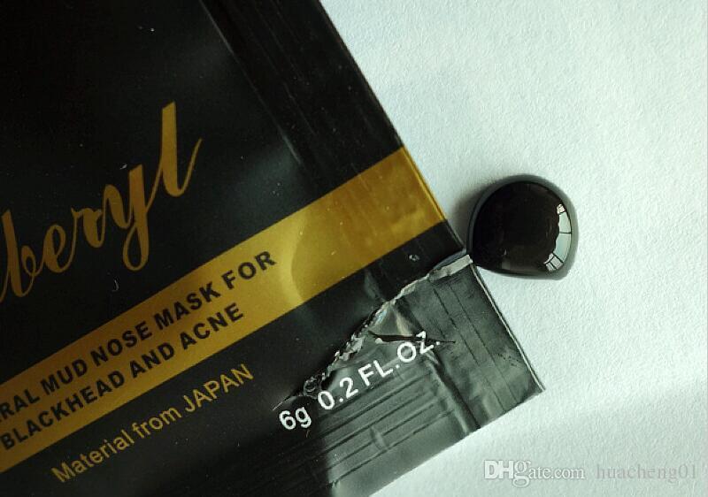 DOBERYL Siyah Nokta Maske Yüz Bakımı Yüz Siyah Nokta Remover Burun Akne Tedaviler Derin Temizlik Mineral Çamur EX Gözenek Şeritleri Temizleyici 6g